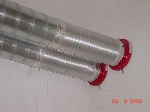 Brandschutzklappen für Lüftungsrohre